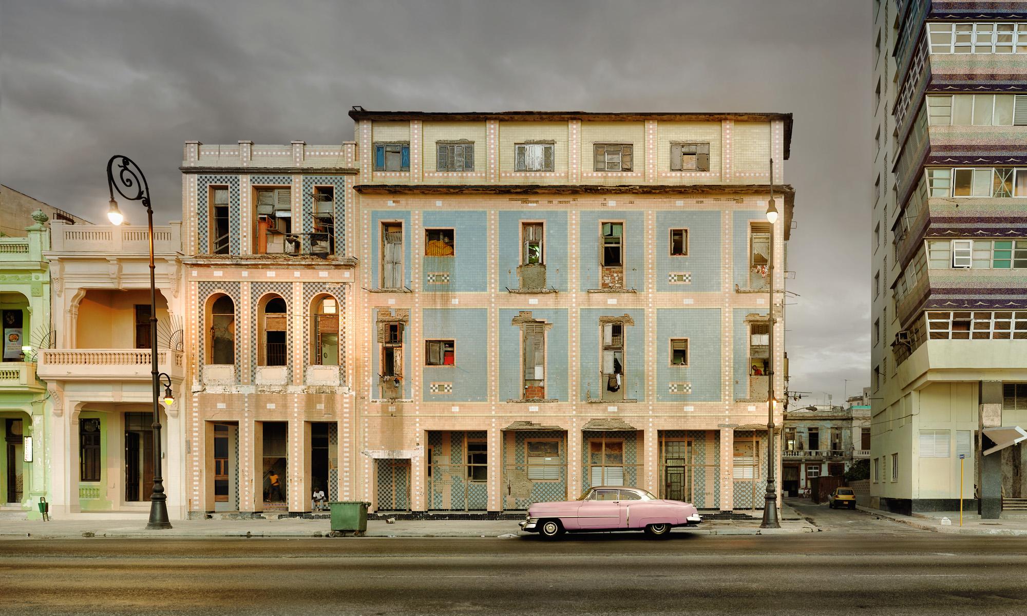 Malecon - Pink Cadillac - Havana, Cuba 2012