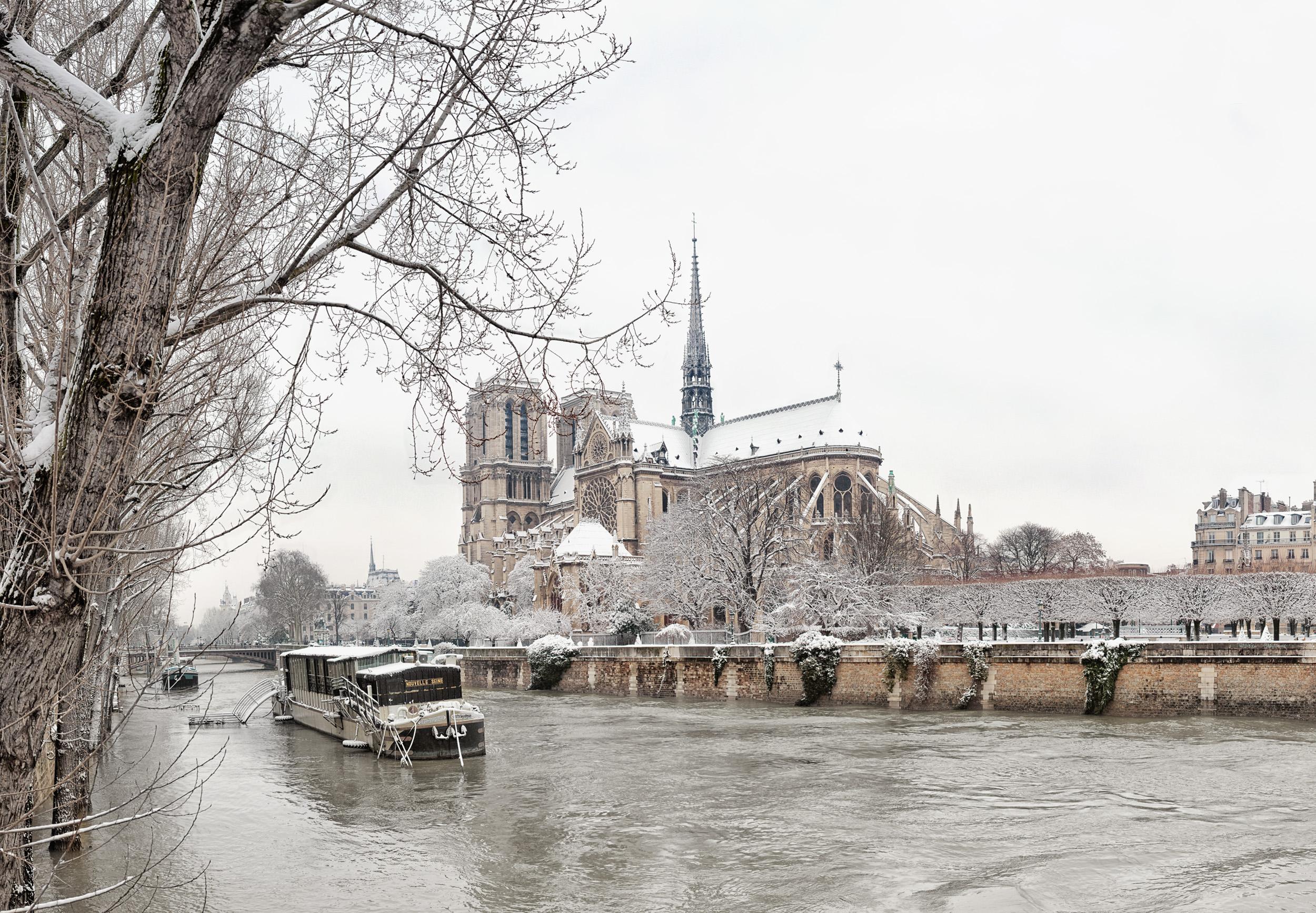 Notre-Dame de Paris, Hiver 2018