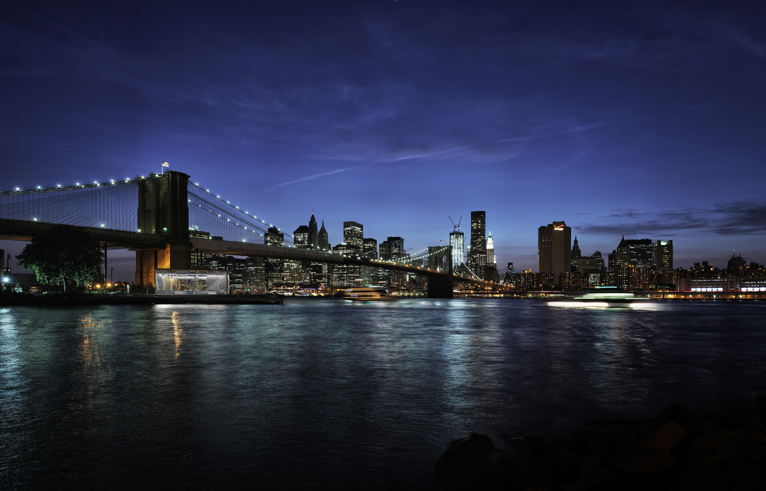 Brooklyn Bridge - New York, 2011