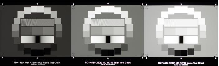Bracketed Exposure of OECF Frames