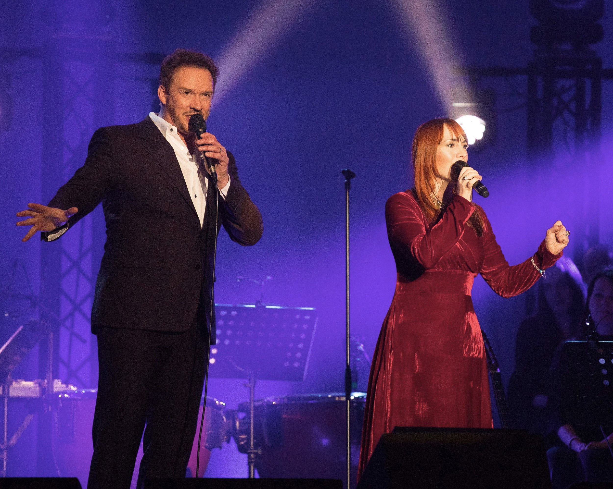 On tour with Russell Watson 2017