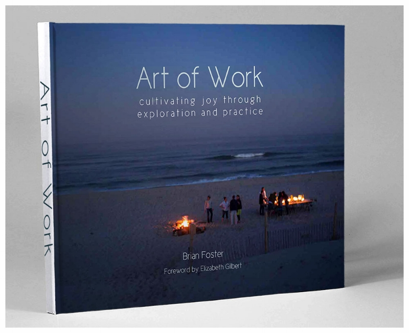Our new book, Art of Work. Coming this spring
