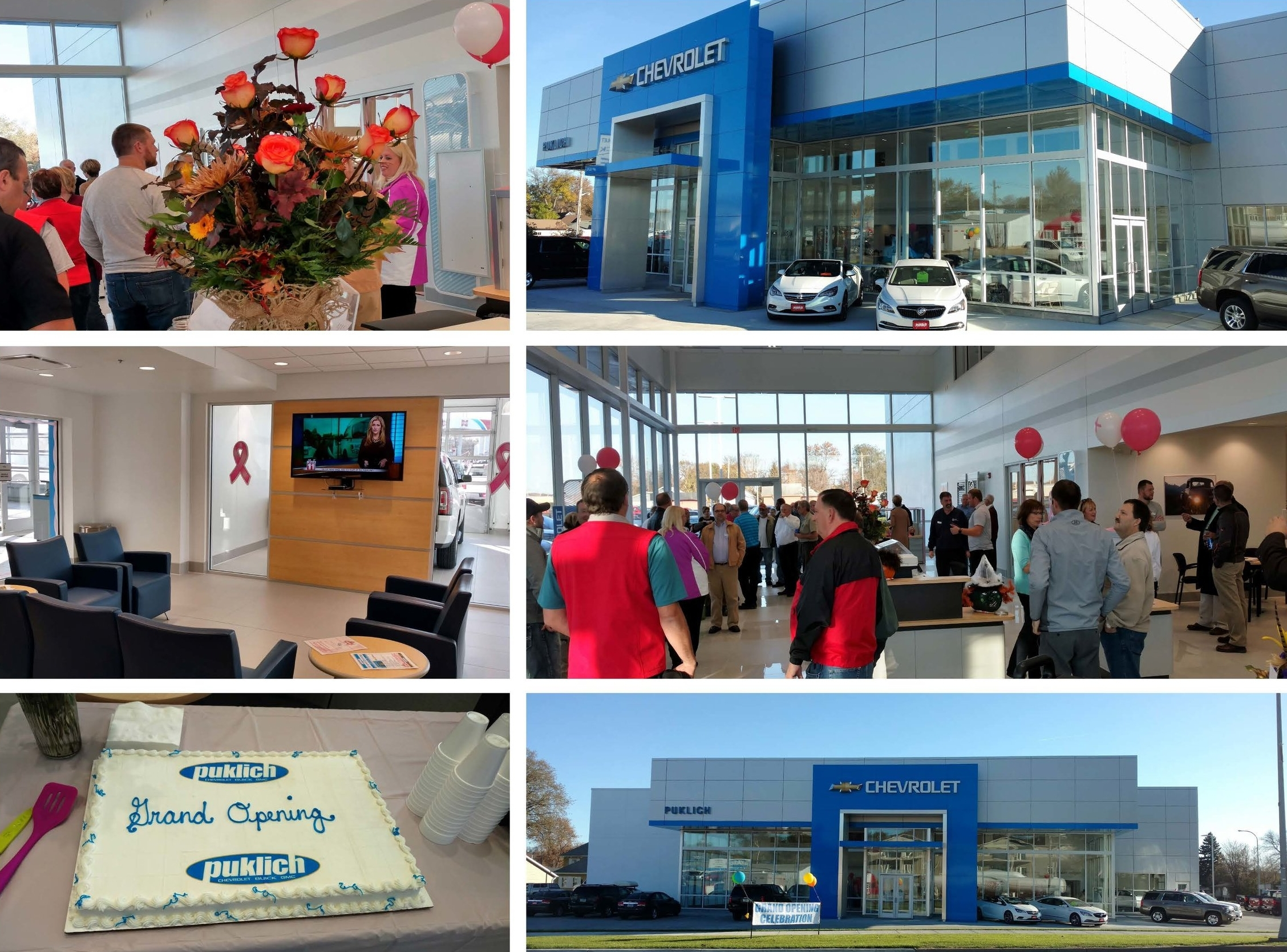 Puklich Chevrolet Buick GMC Grand Opening Celebration in Valley City, ND