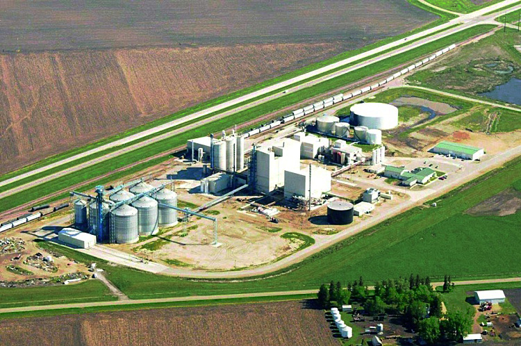 SOYBEAN PROCESSING PLANT  Brewster, MN