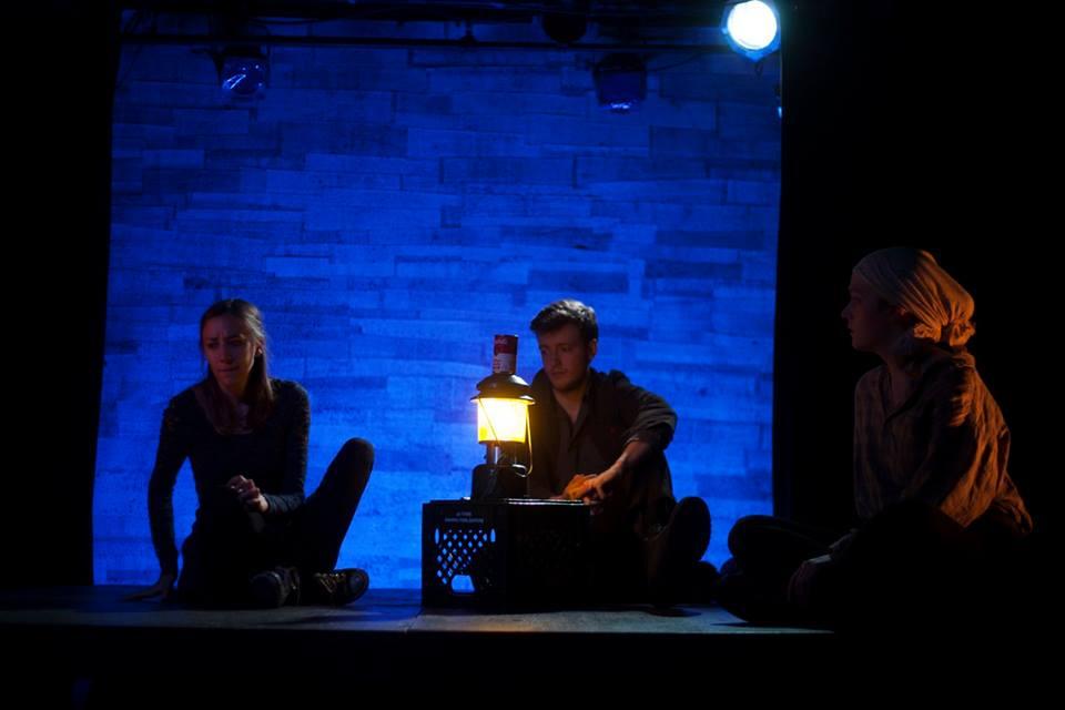 Sarah Keyes, Olivia Rose Barresi, Finn Kilgore. Photo by Abigail Clark.