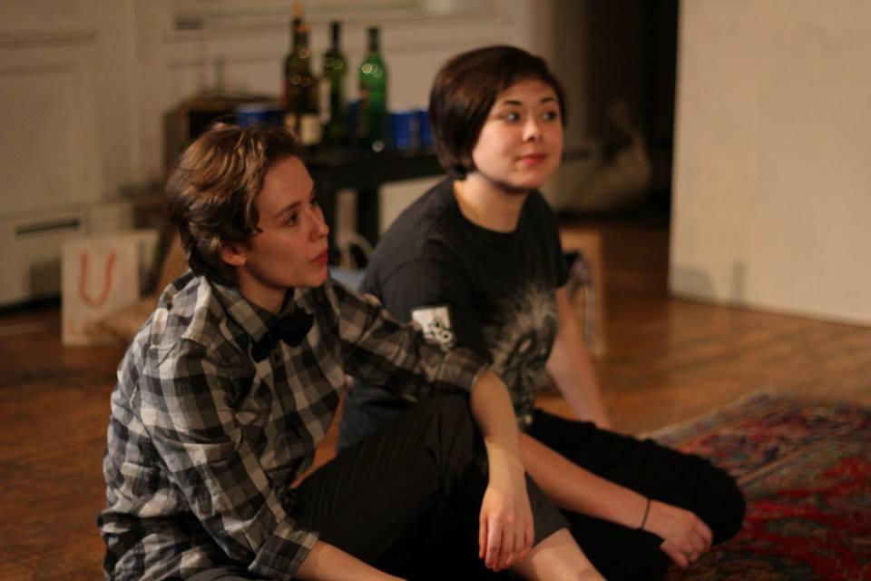 Hailey Bachrach, Cassie Foote. Photo by Corbin Went.