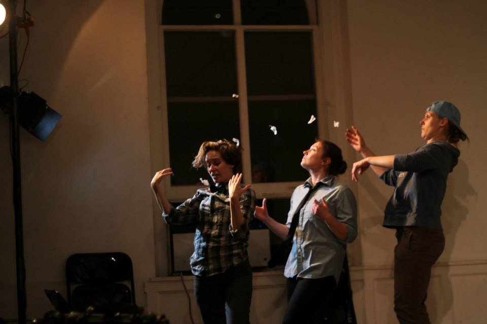 Hailey Bachrach, Miranda Poett, Ria DiLullo. Photo by Corbin Went.
