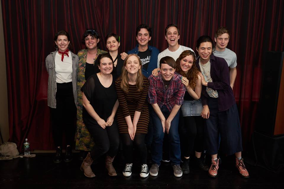 Ensemble and crew of Initiative, Photo Courtesy of the Playwrights Realm