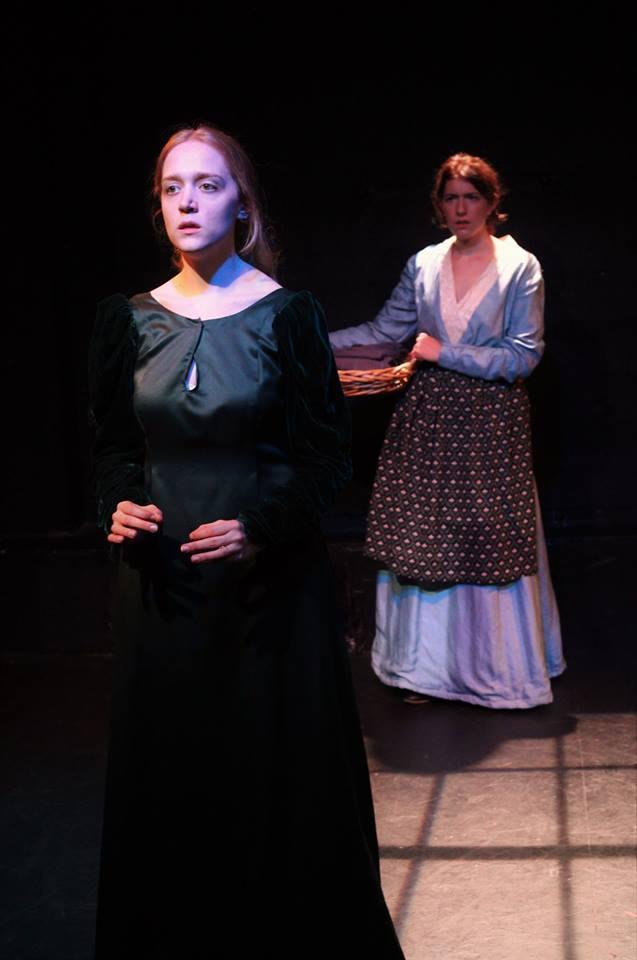 Olivia Rose Barresi, Julia Larsen. Photo by Else C. Went.