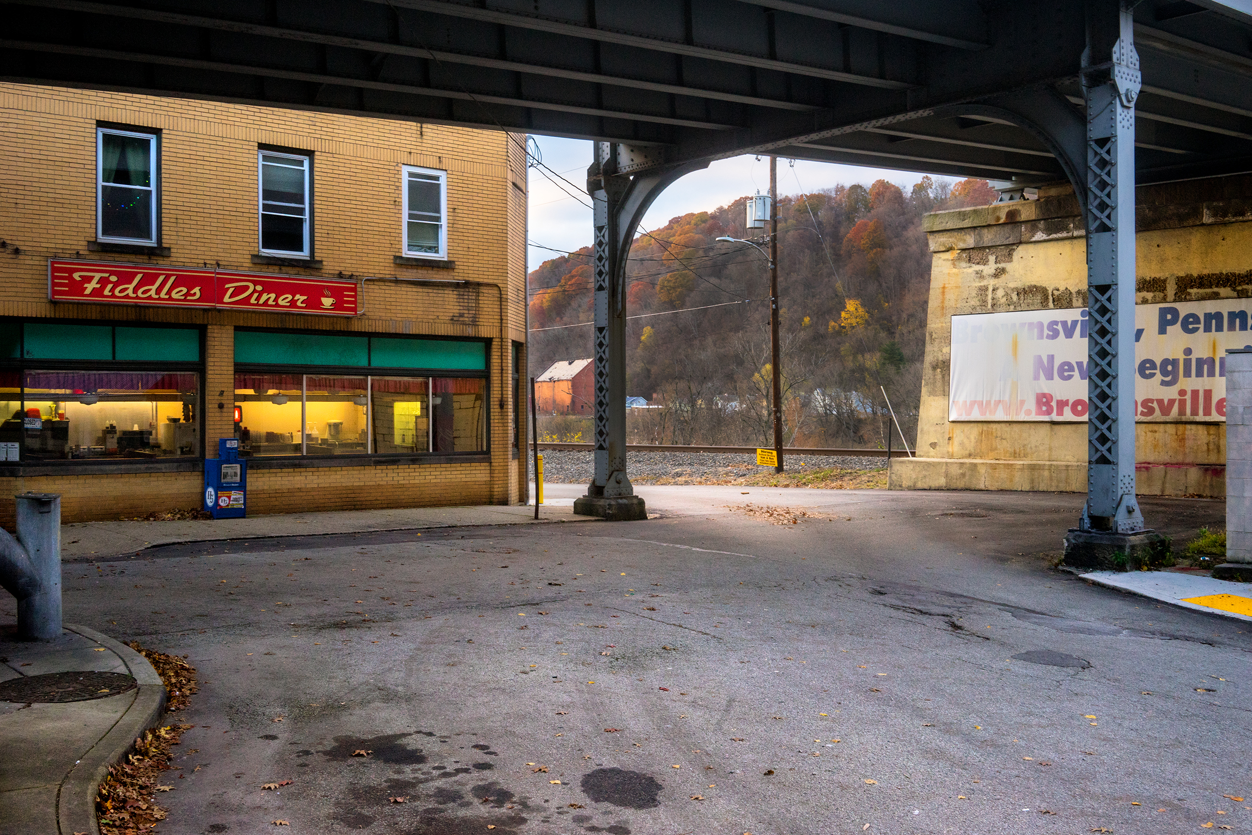 """""""Fiddles"""" Brownsville, Penn, November, 2018. ©Niko J. Kallianiotis"""