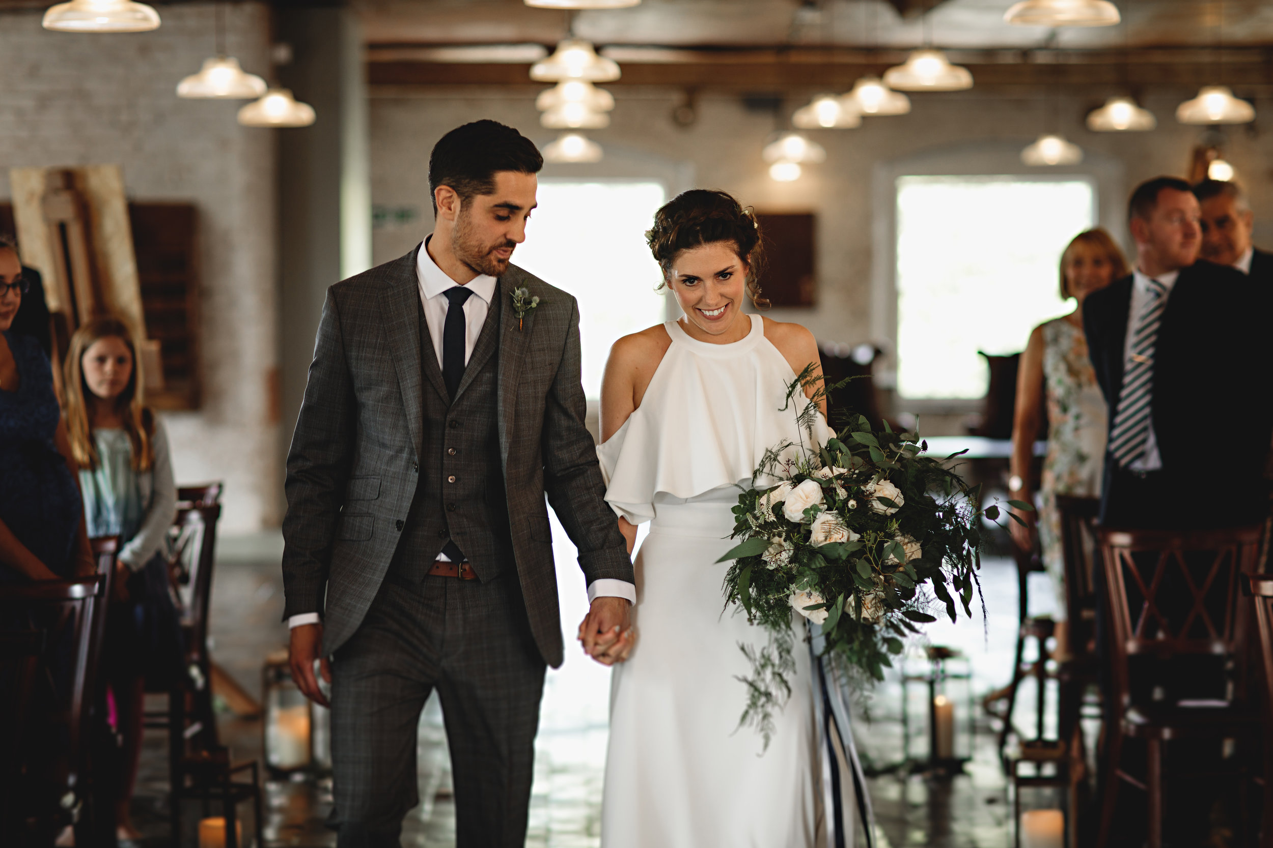 Jesus Peiro For A Chic And Industrial Wedding At The West Mill.jpg