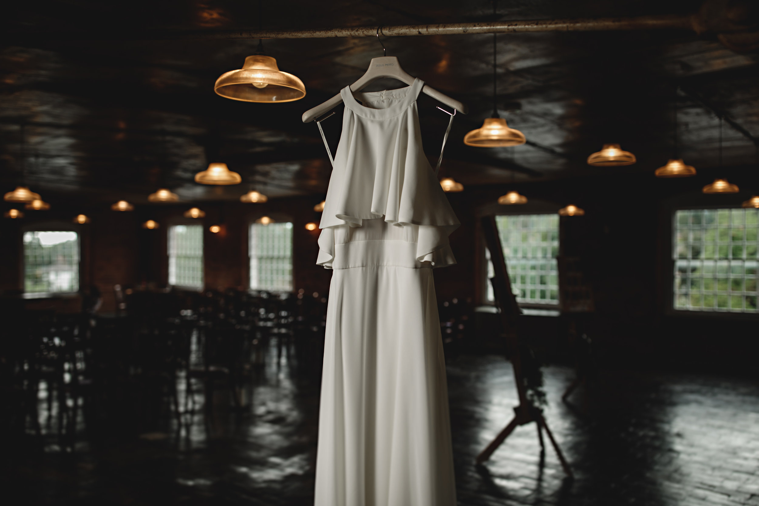 Jesus Peiro For A Chic And Modern Industrial Wedding At The West Mill 3.jpg