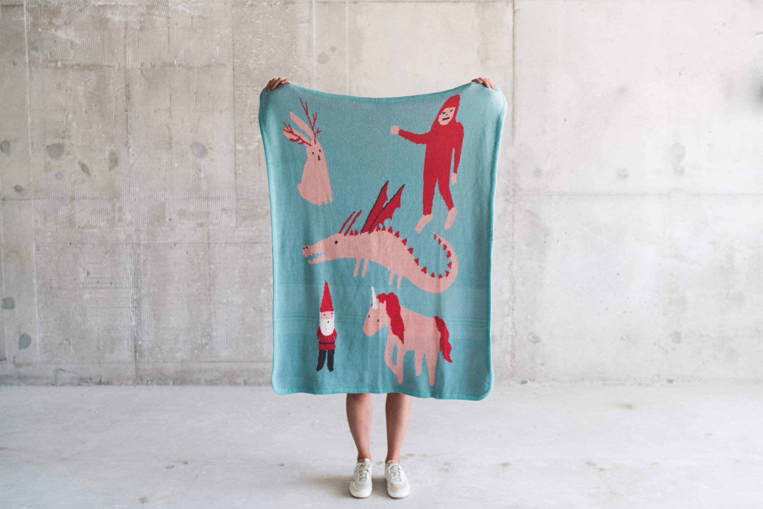 featuring the fairytale blanket - image courtesy of Street Dreams Magazine