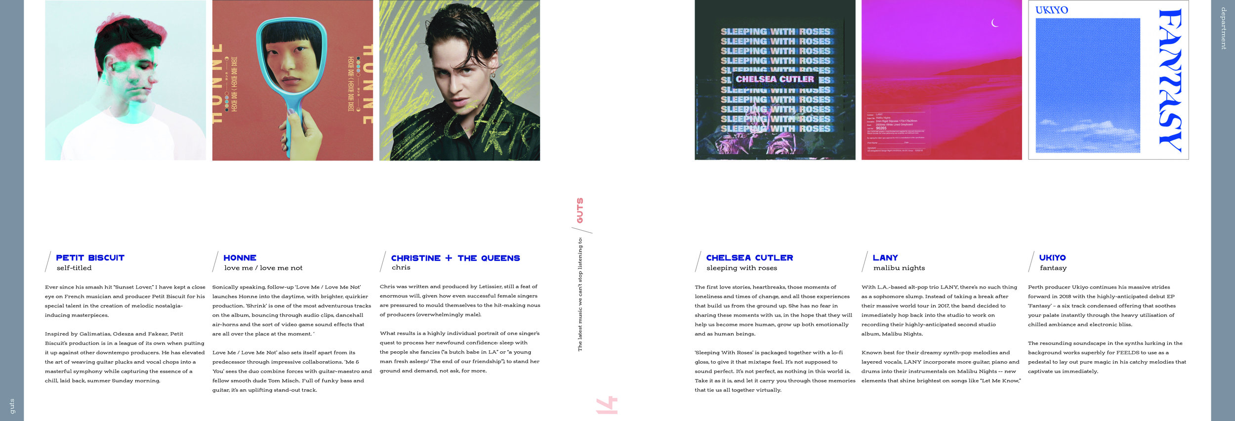 Guts: Album Reviews