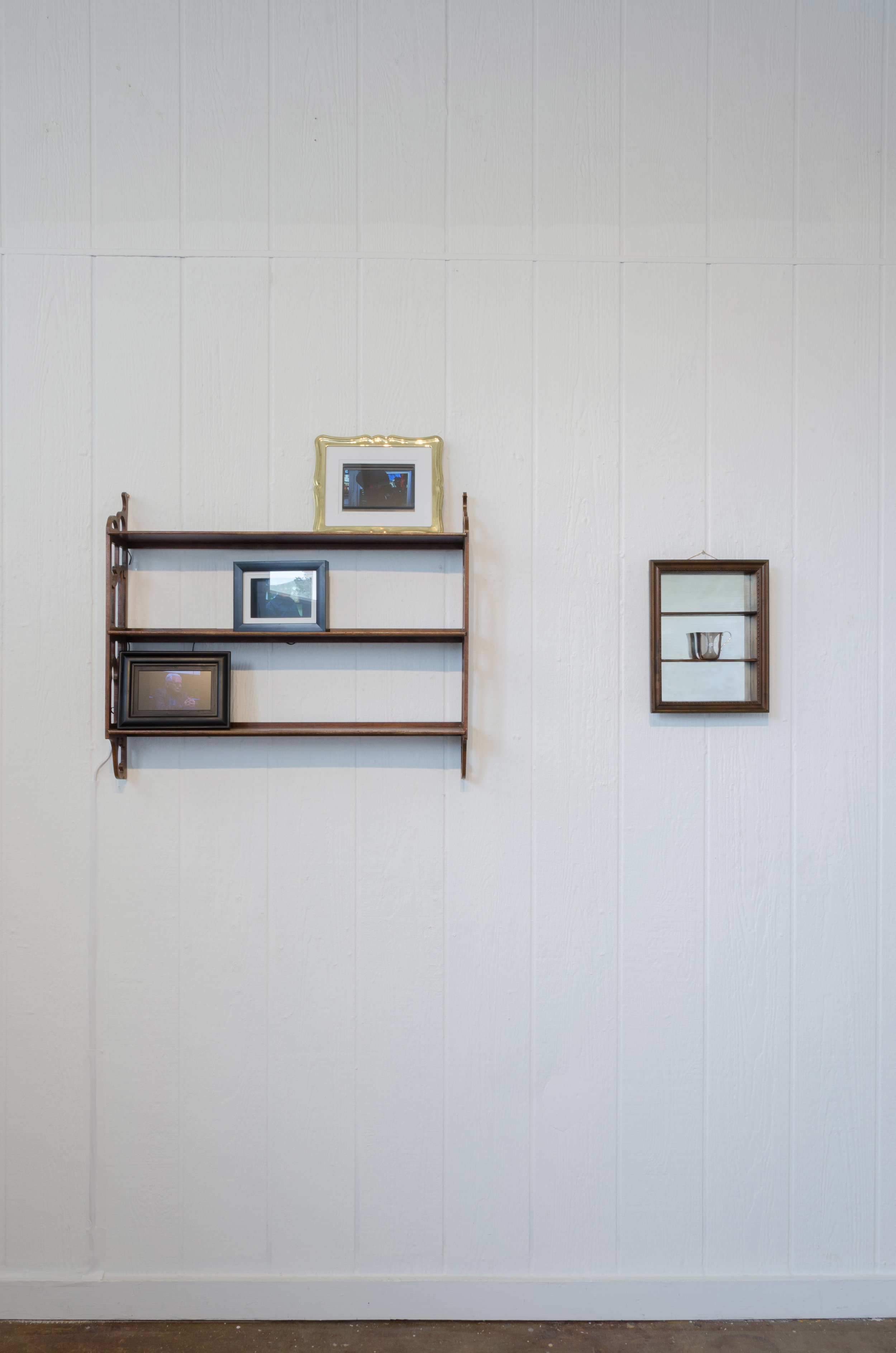 Installation View from origins at Toby's Gallery   (from left to right)  g-ma, legacy,  Point Reyes Station 2019