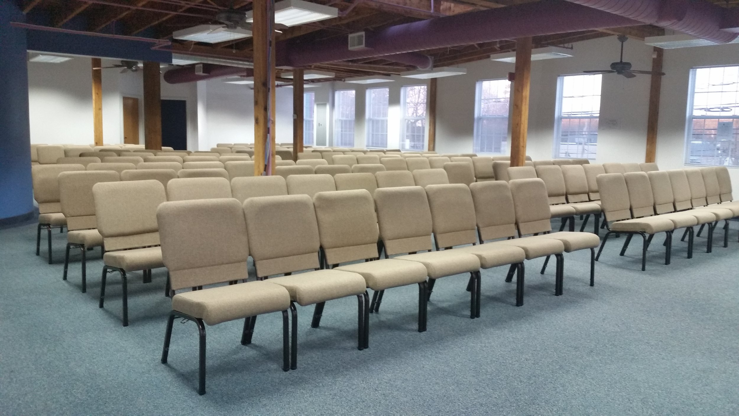 Jan 8th 2017 at 10:30 will be our first gathering at our new location in Stoneham. This is our temporary space while the main room is under construction. Join us as we take the next step in this adventure God has us on!