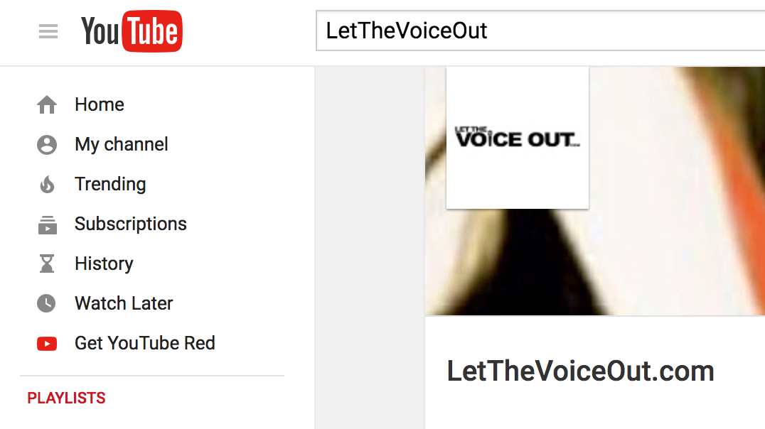 Check out the LetTheVoiceOut.com Youtube Page to see live performances, testimonials, and more, with #AprilVoiceCoach and her most passionate students.