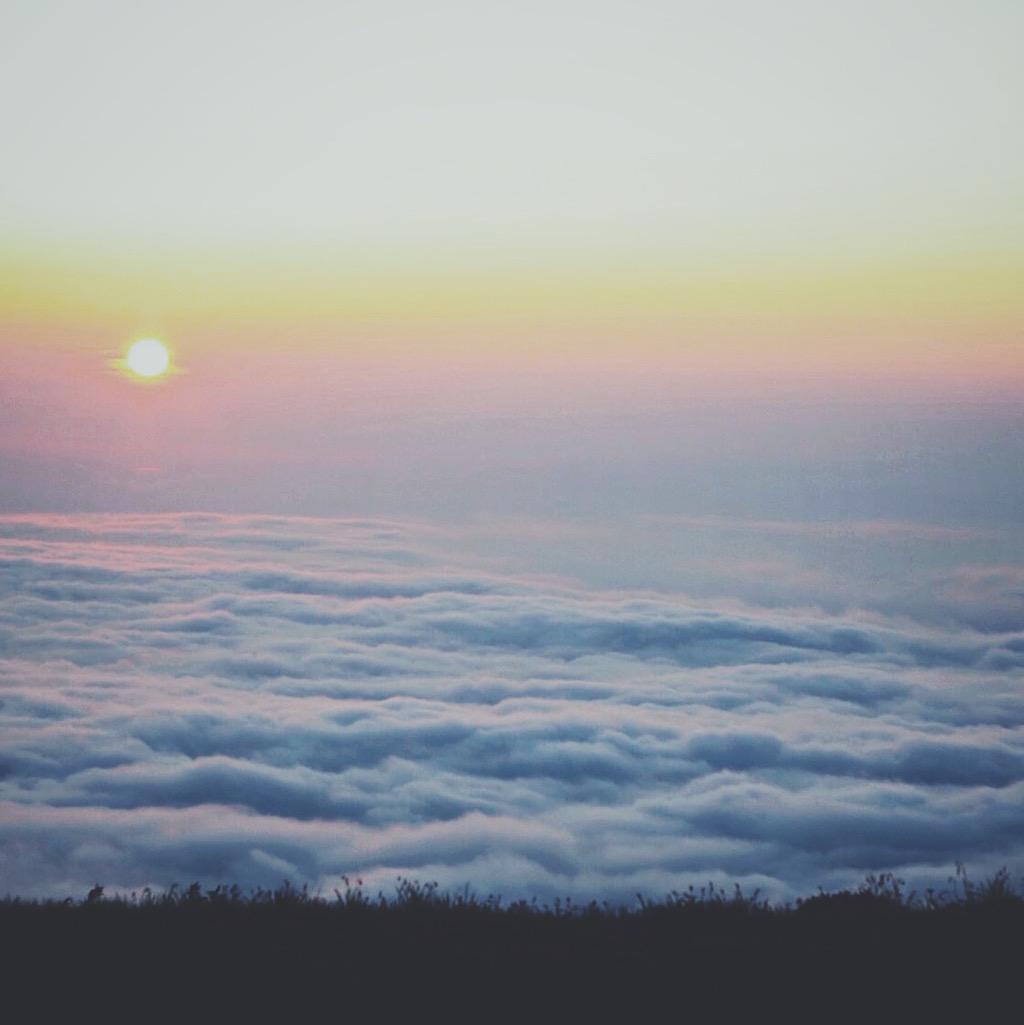 Skyline Divide at Sunset.