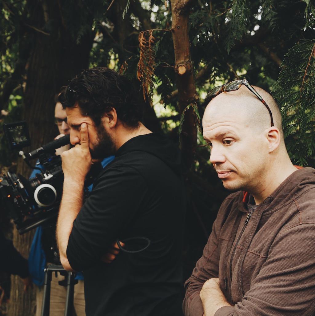 Sunshine Whitton (EP)and Chris Koser (DP) troubleshoot.