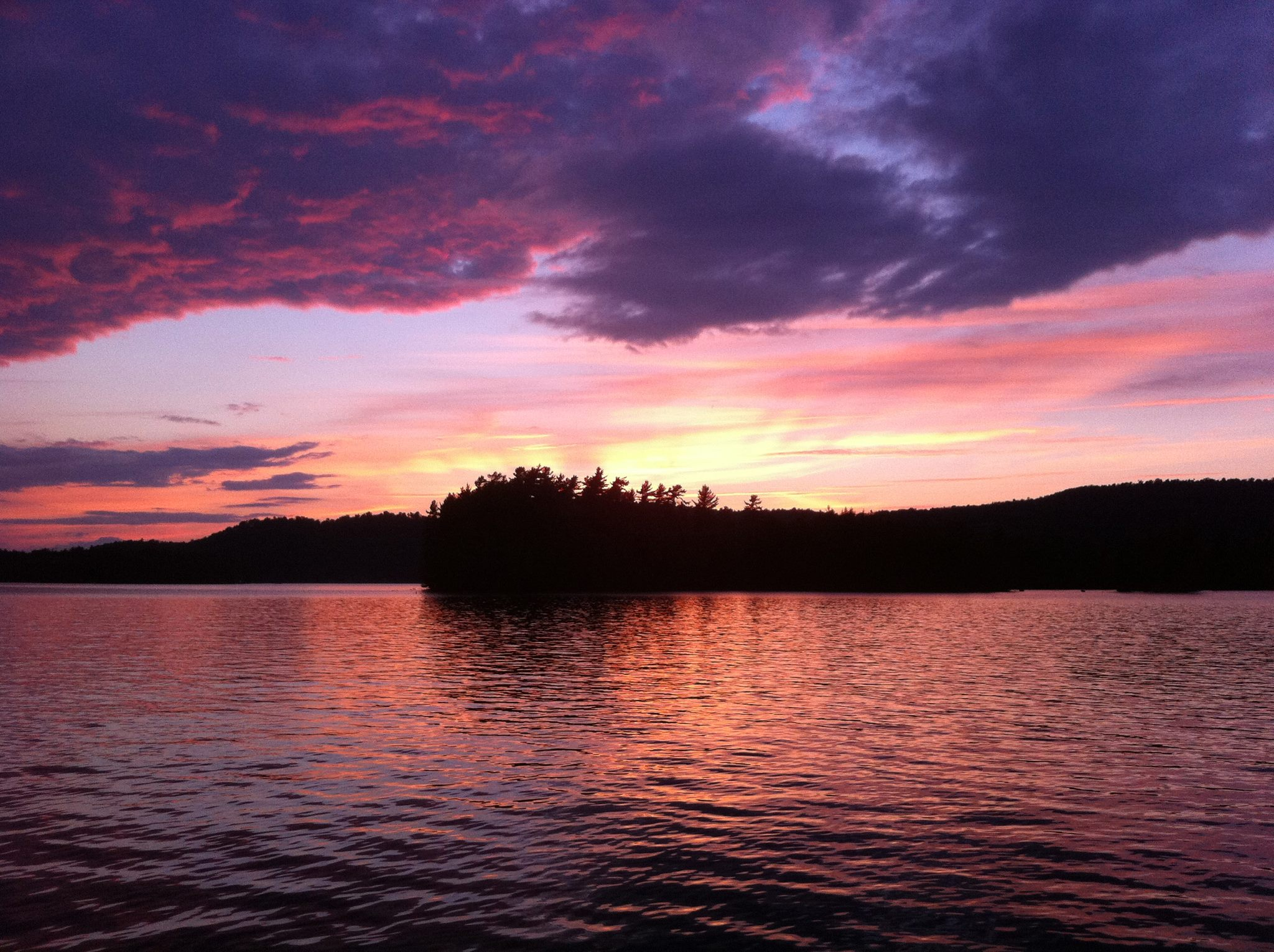 2nd Lake, Fulton Chain of Lakes in the Adirondacks, Photo Credit: David W. Weygandt