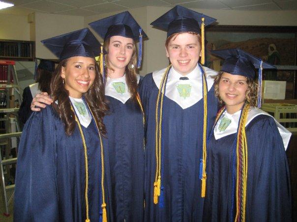 Graduation - National Honor Society - Becerra_Ward_Weygandt_Flores