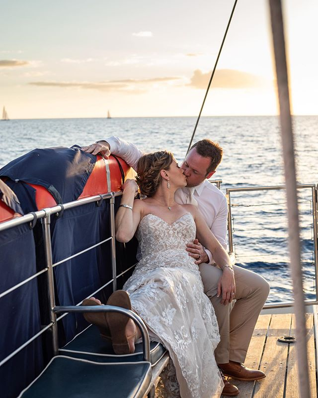 Looking forward to some upcoming weddings with @trilogyweddings  The trilogy team always does such an amazing job with their wedding guest. I love the opportunity to be able to capture the story of the wedding couple on their big day out at sea. #boatwedding #mauiwedding #destinationwedding #weddingatsea #trilogyweddings #mauiweddingphotographer #weddingphotographer #destinationphotographer #hawaiiwedding
