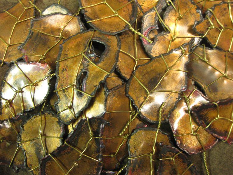 box o' copper leaves