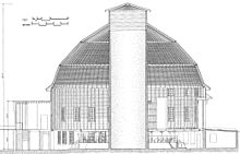 Diagram of a Round Barn