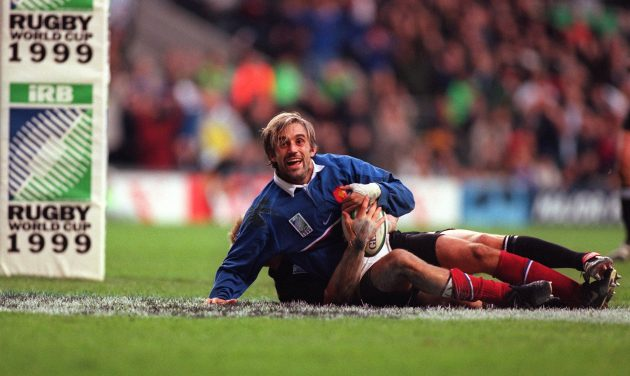 The 1999 Rugby World Cup. Christophe Lamaison and the French scored 33 unanswered points in 20 minutes and would emerge 43-31 winners over the New Zealand All Blacks.