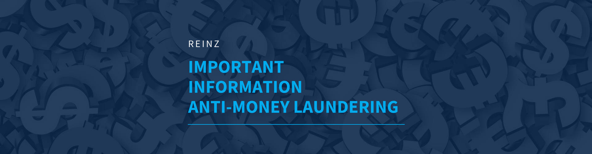 Important Information - Anti-Money Laundering