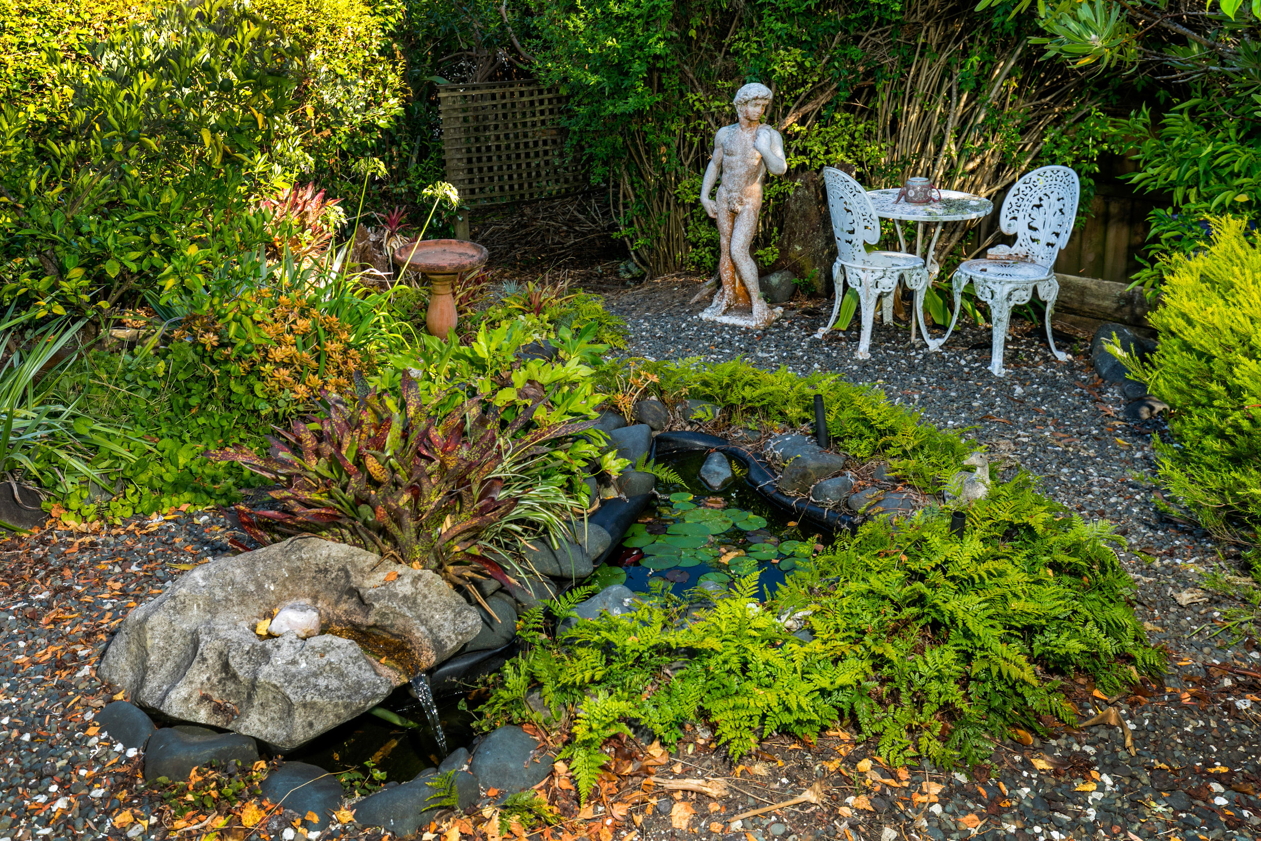 Outdoor setting area with Fish pond.jpg