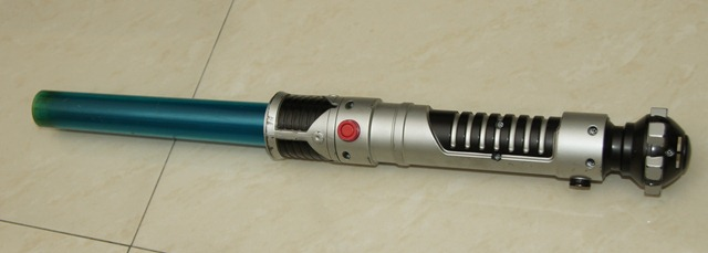 Obi-wan's blade was folded like an accordion by a rapper's son. My meeting tool was no more.