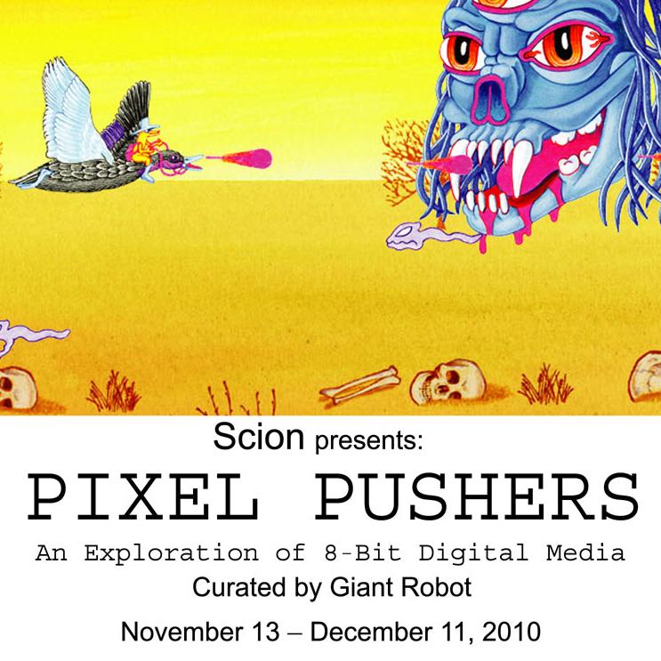 Pixel Pushers
