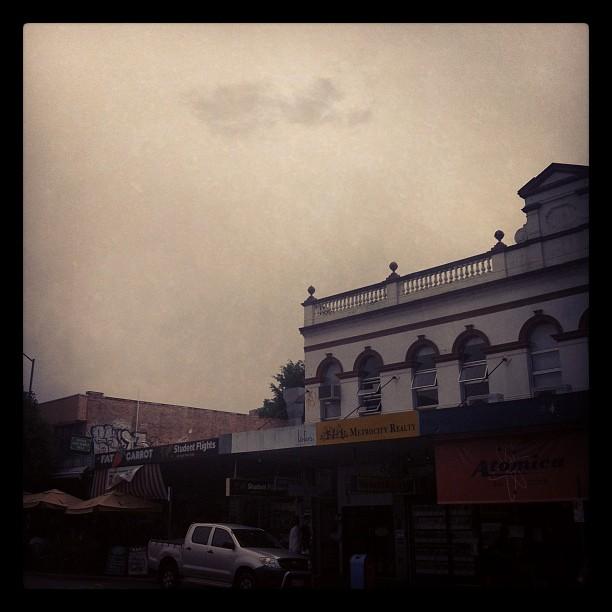 gonna rain kids… (Taken with  Instagram )