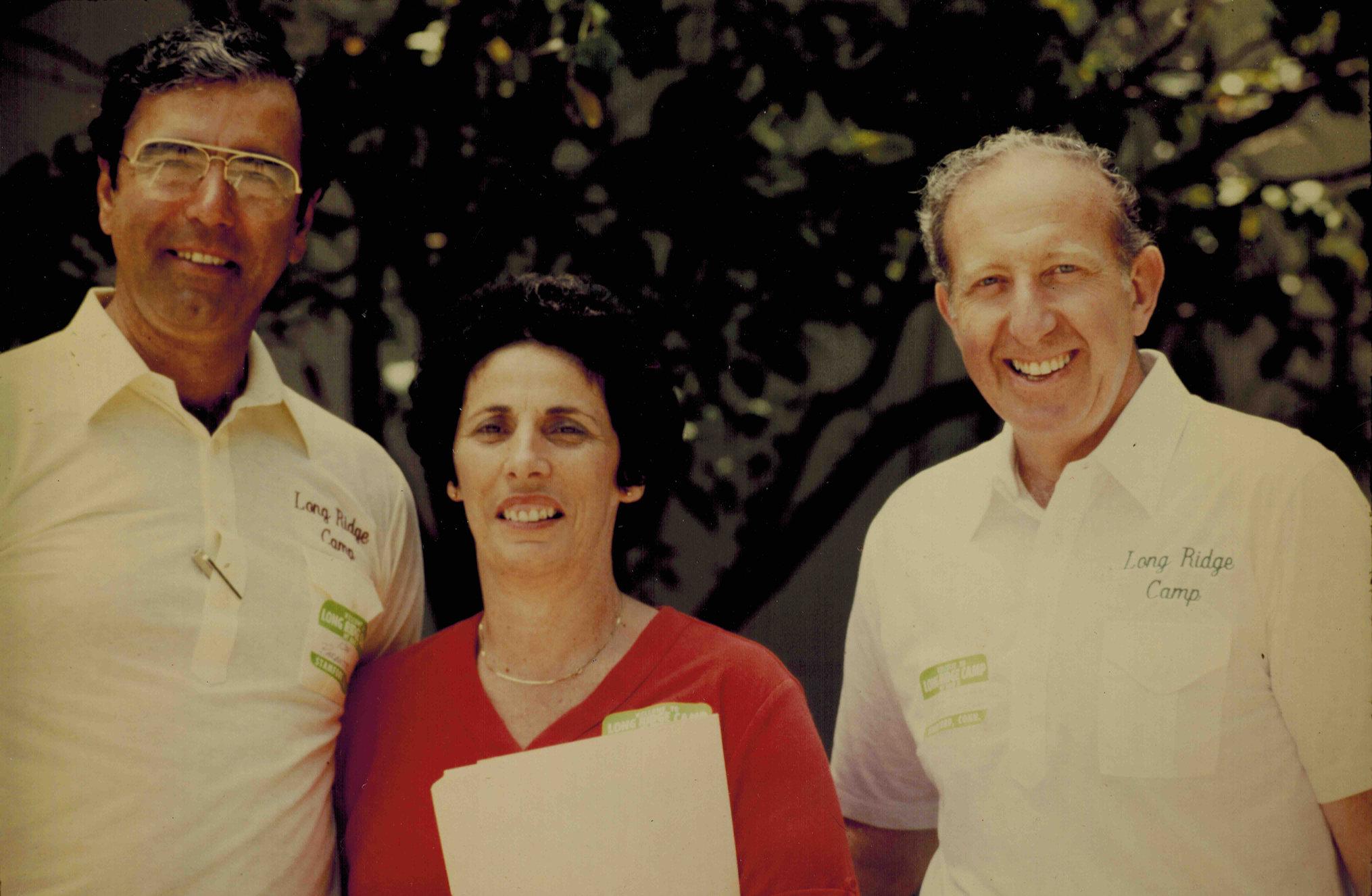 Ron Parente, Myrna and Herm Alswanger