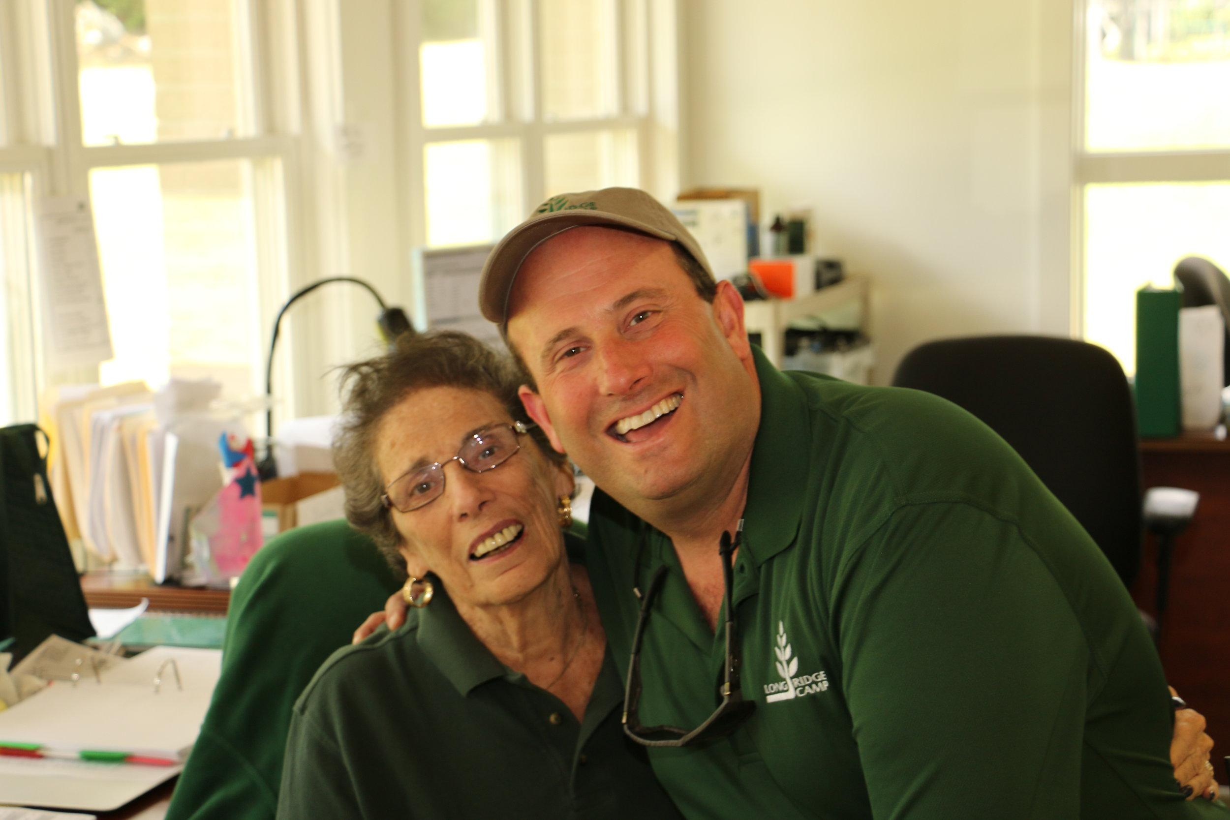 Myrna and Geoff Alswanger