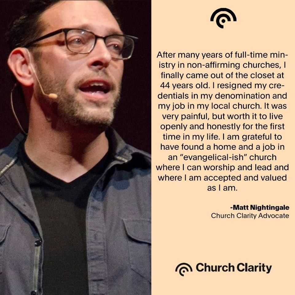 Advocating for Church Clarity
