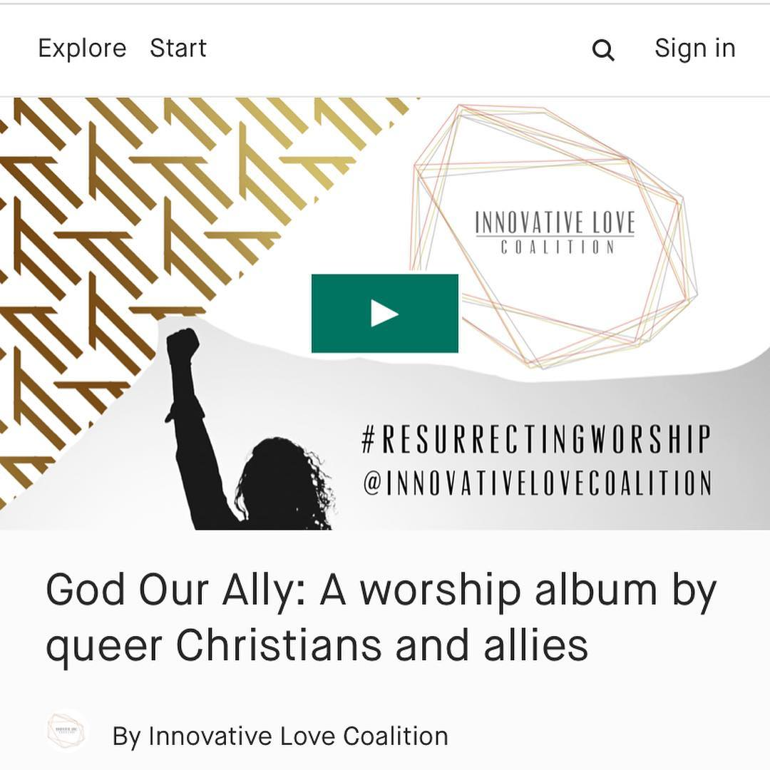 Innovative Love Coalition: #GodOurAlly