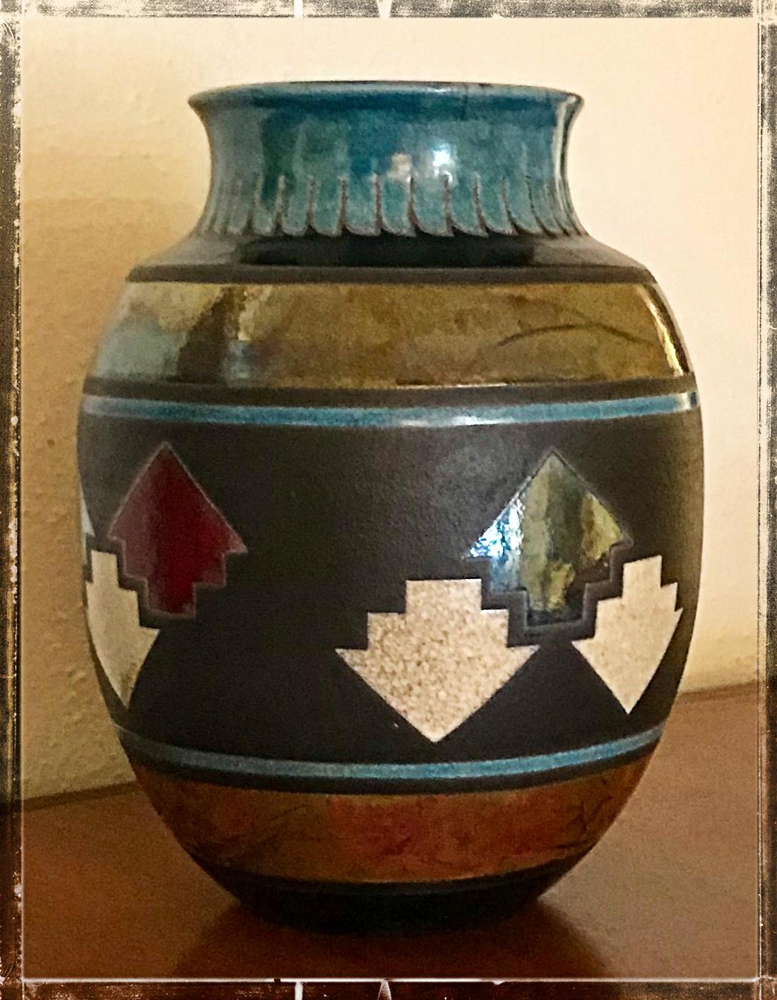 Arrowhead Vase