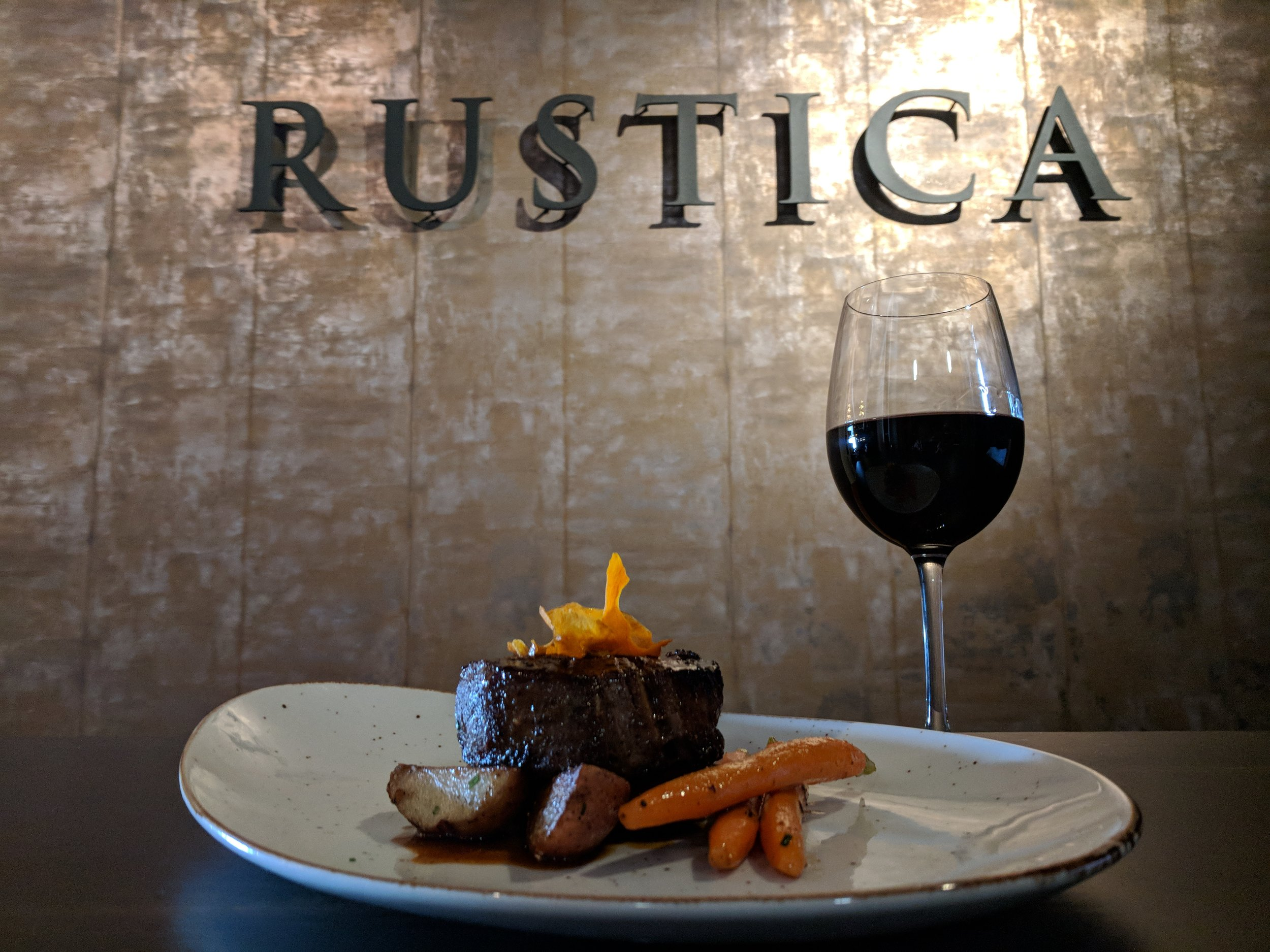 Serving only 100% Canadian Prime beef (Canada's best), a Rustica steak is always memorable.
