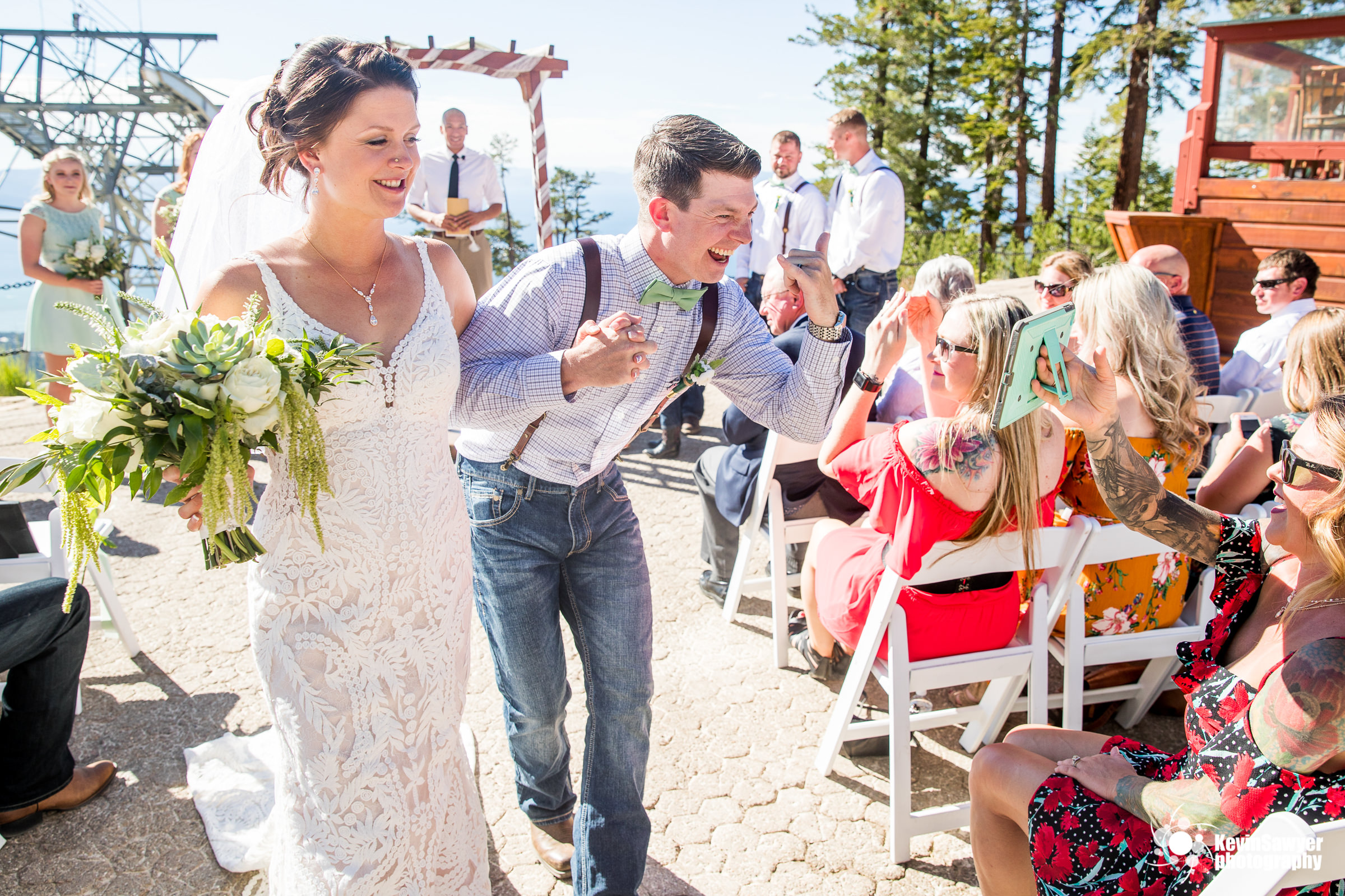 lake tahoe wedding photographer heavenly ceremony