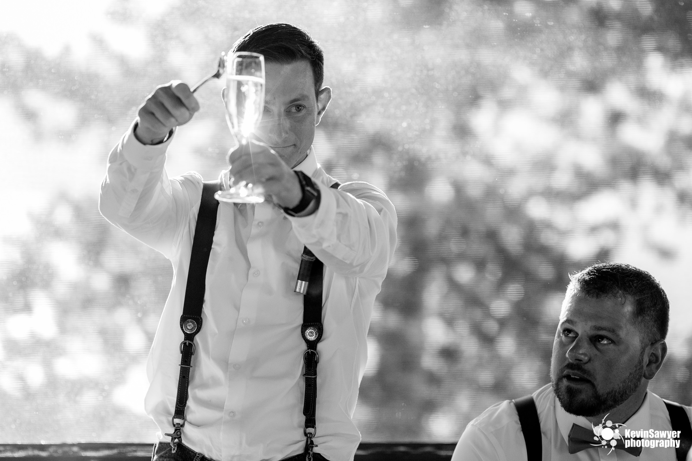 lake tahoe wedding photographer heavenly lake view lodge toast