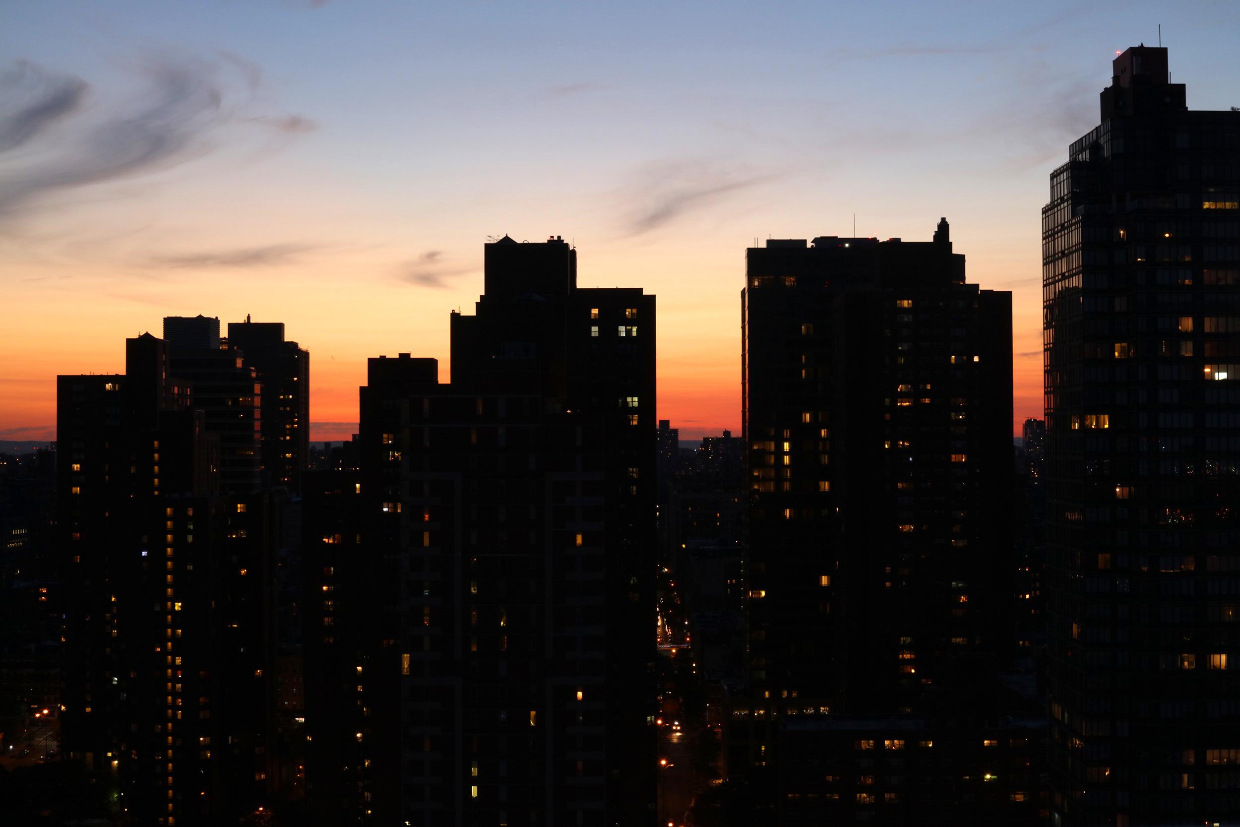 Sunset, Upper East Side