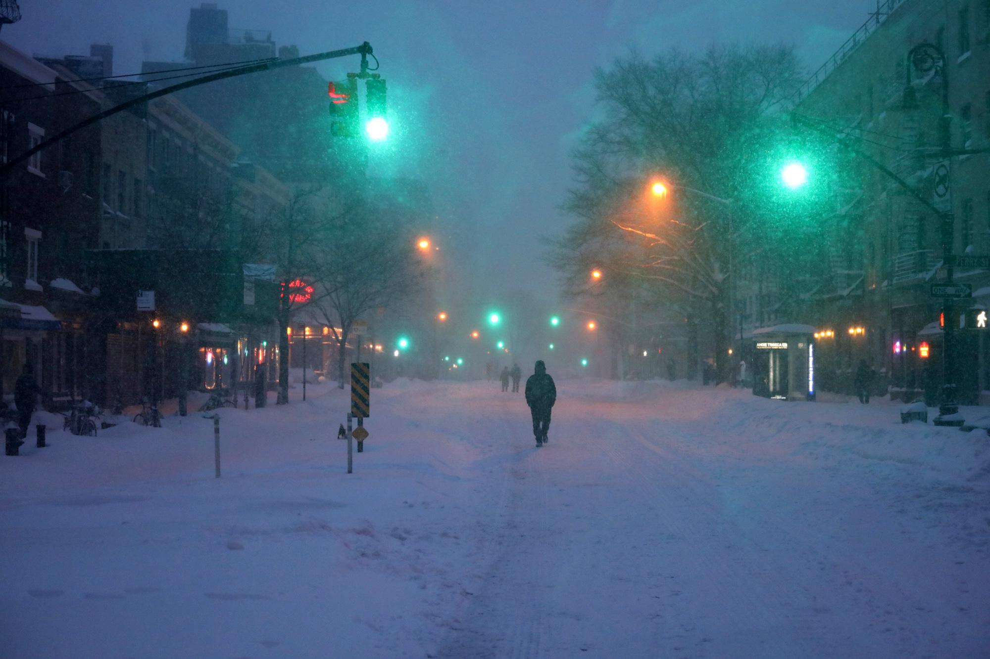 West Village, Blizzard