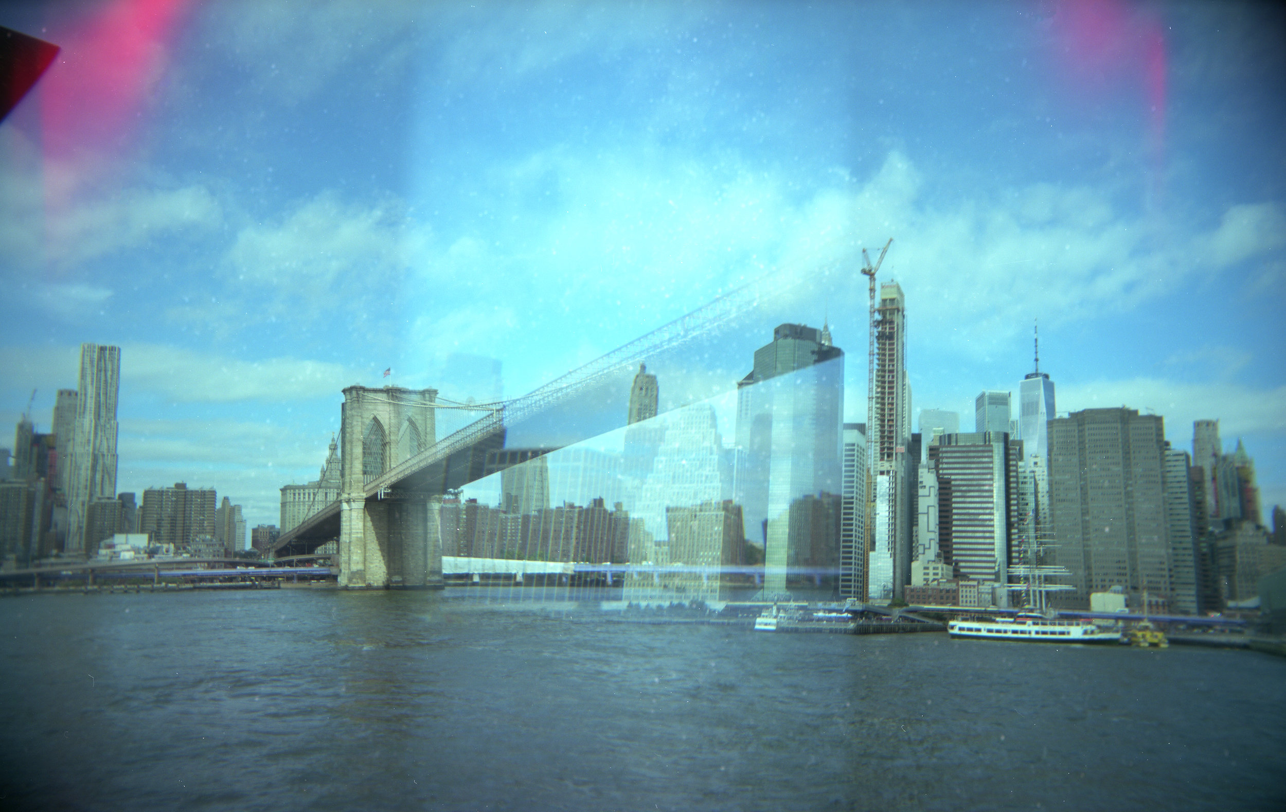 East River, Double Exposure