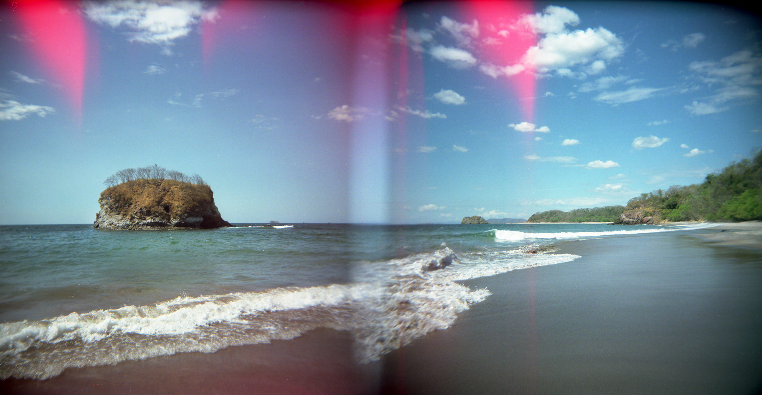 Playa Mina, Double Exposure