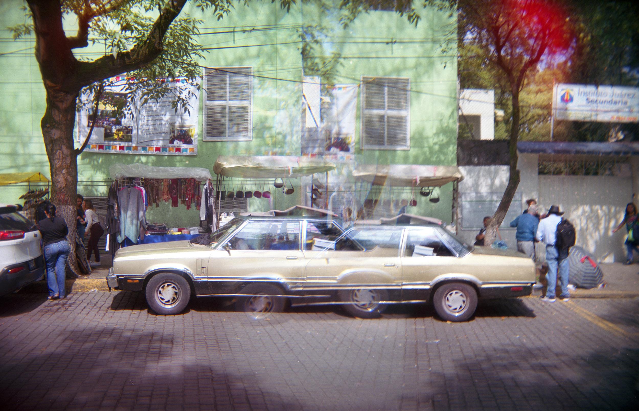 Car, Double Exposre