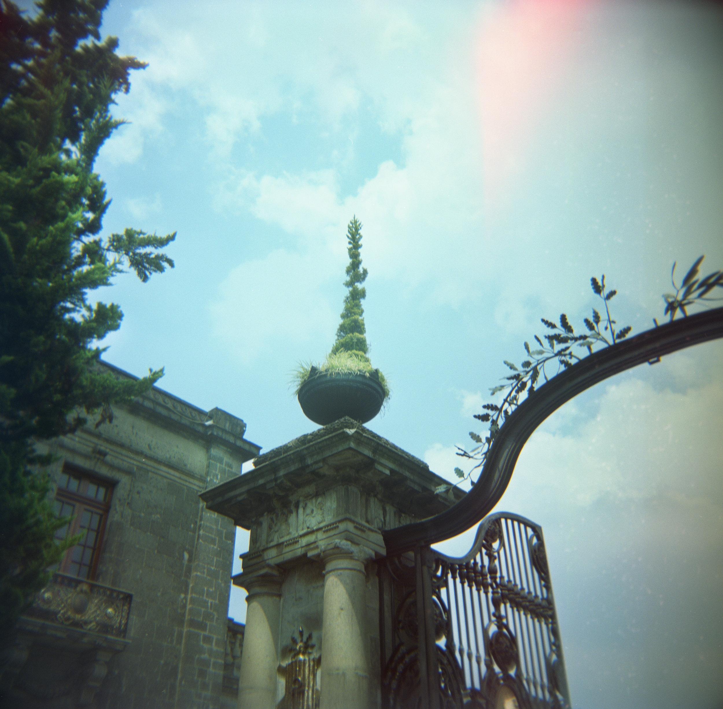 Entrance, Chapultepec Castle