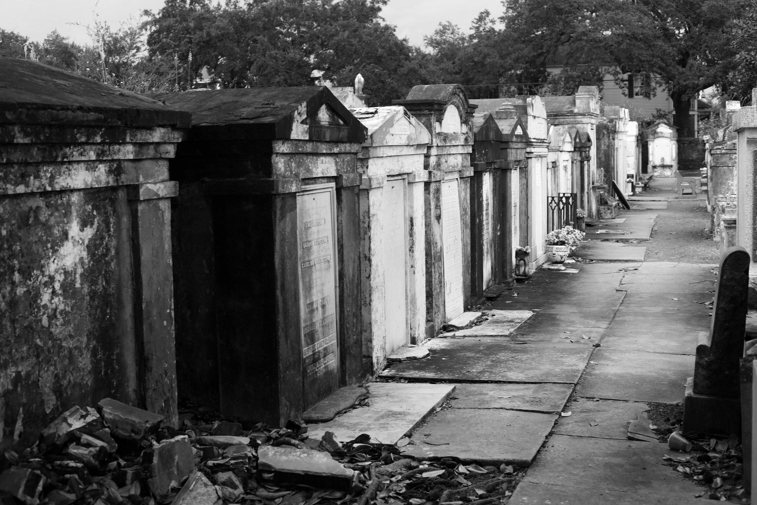 Burial Row