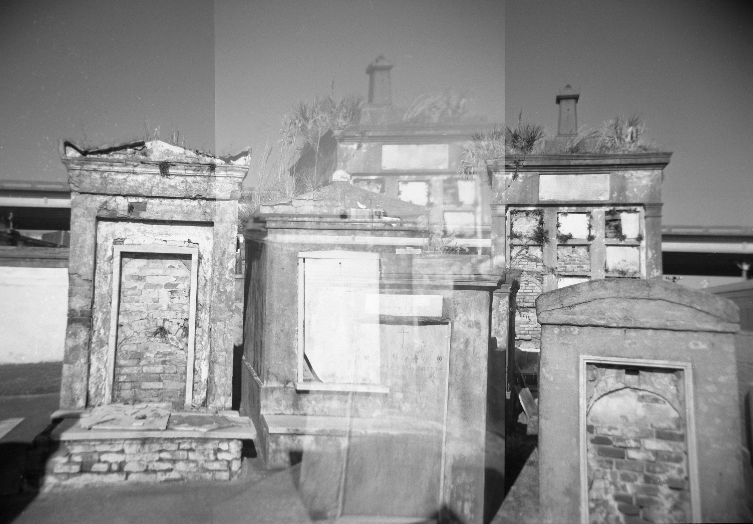 Mausoleums, Double Exposure
